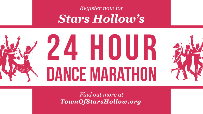 "24-Hour Dance marathon, ""Gilmore Girls: A Year in the Life"" slideshow"