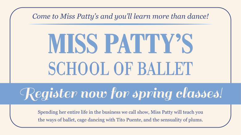 "Miss Patty's, ""Gilmore Girls: A Year in the Life"" slideshow"