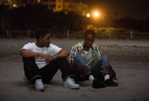 "Jharrel Jerome and Ashton Sanders in ""Moonlight"""