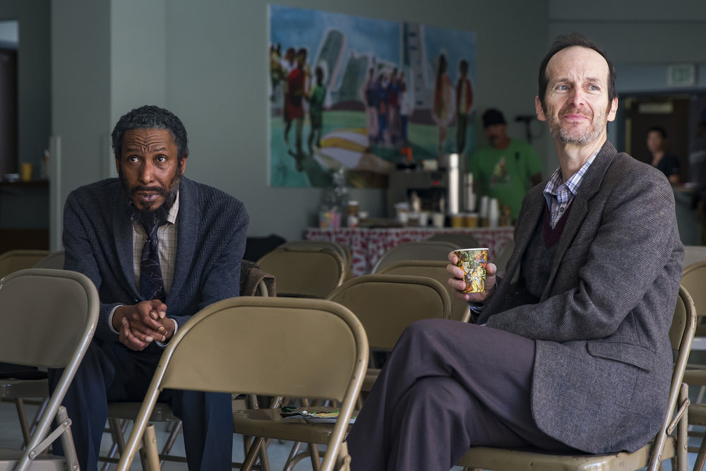 "THIS IS US -- ""Last Christmas"" Episode 110 -- Pictured: (l-r) Ron Cephas Jones as William, Denis O'Hare as Jesse"