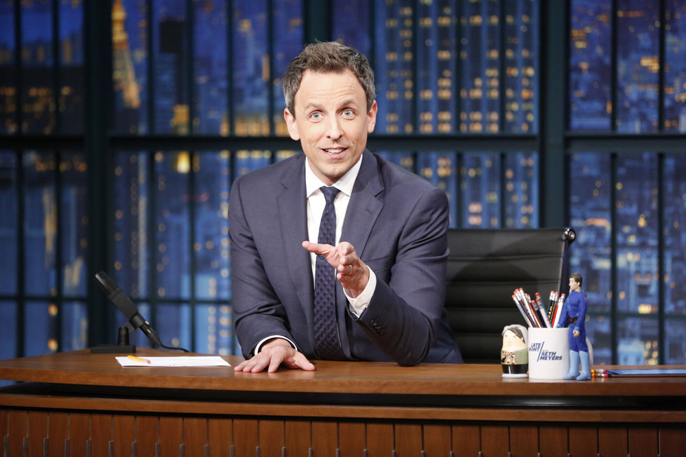 Seth Meyers Tries to Make Sense of a Bizarre Year with 'A Closer Look Back at 2016' — Watch