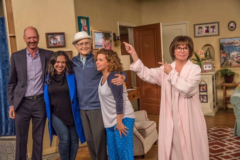 One Day At A Time Norman Lear, Justina Machado, Rita Moreno