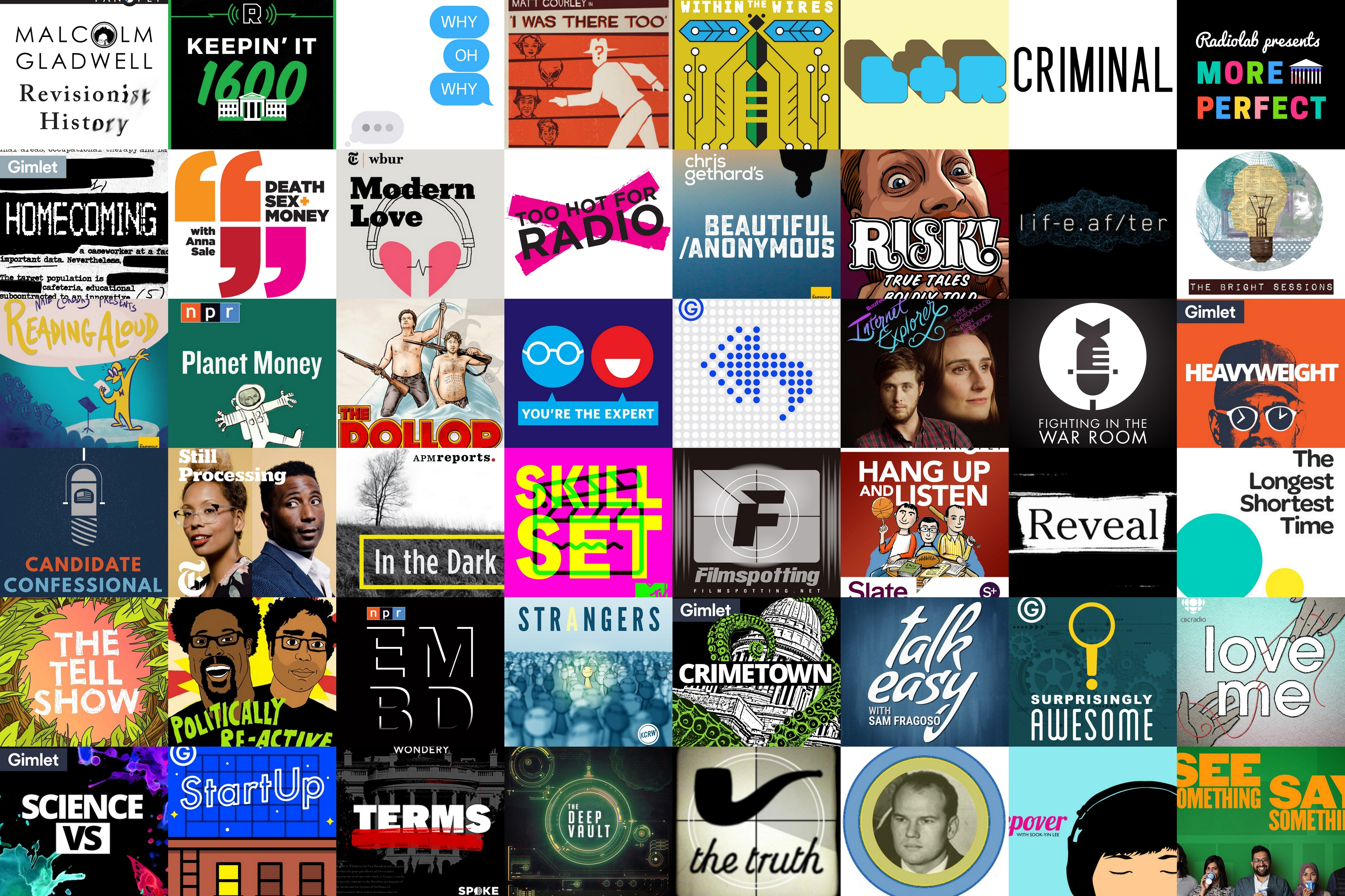 Greatest podcasts