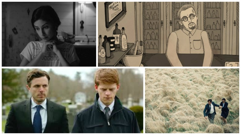 "2016 year-end list runner-ups ""Eyes of My Mother,"" ""Nuts!"", ""Manchester By the Sea"" and ""The Lobster"""