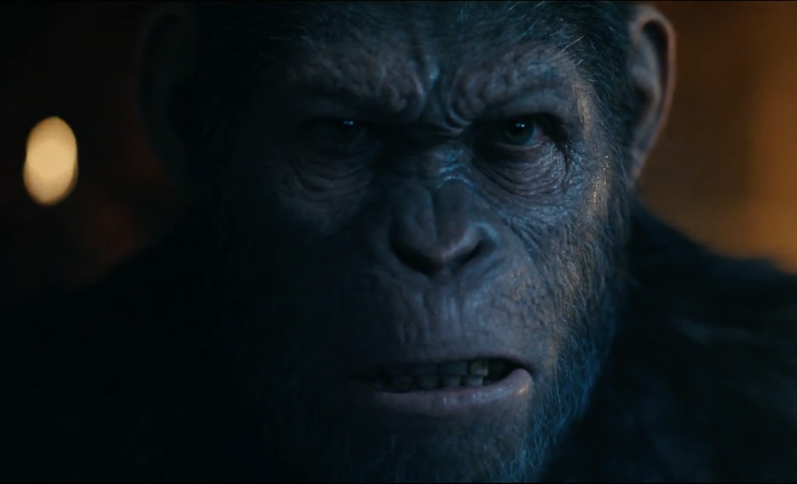 """War Of The Planet Of The Apes"""