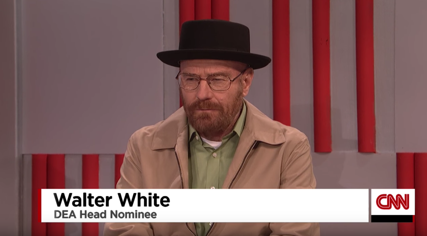 Walter White Is Trump's Newest Cabinet Pick on 'SNL' — Watch ...