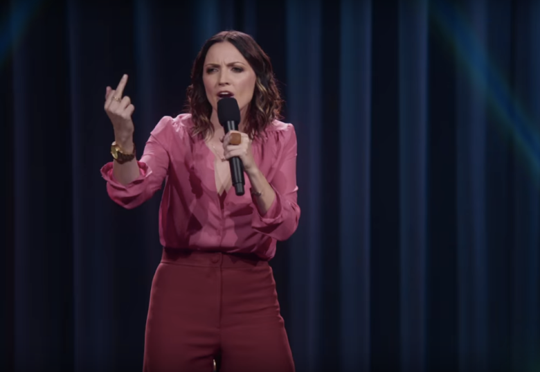 "Jen Kirkman in ""Just Keep Livin?"""