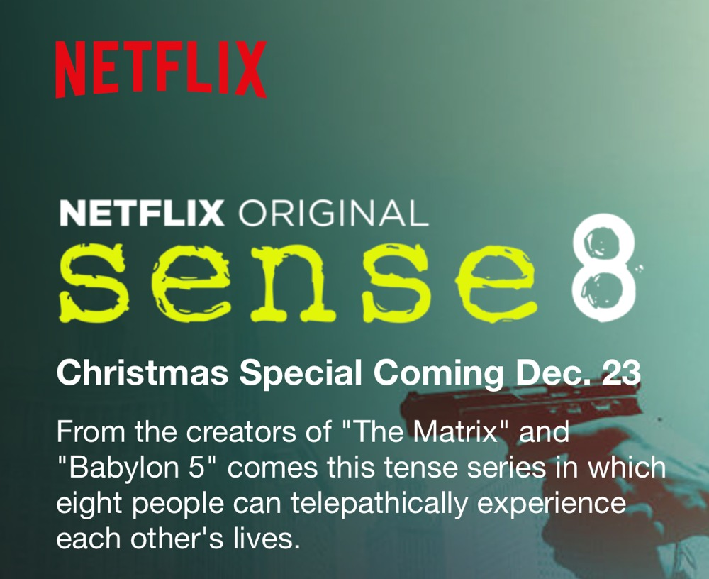 Sense8 Christmas Special Coming This Month To Netflix