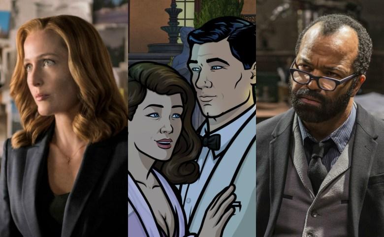The X-Files Gillian Anderson Archer Westworld Jeffrey Wright