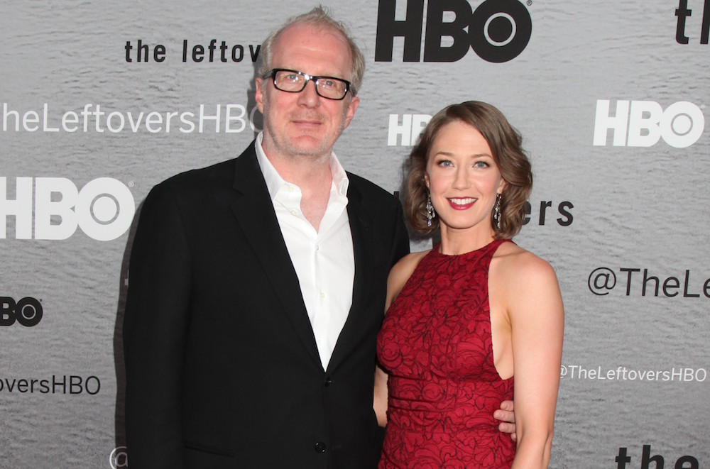 Tracy Letts & Carrie Coon 'The Leftovers' TV programme premiere, New York, America - 23 Jun 2014