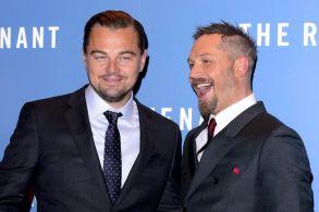 The Revenant Tom Hardy Leonardo DiCaprio