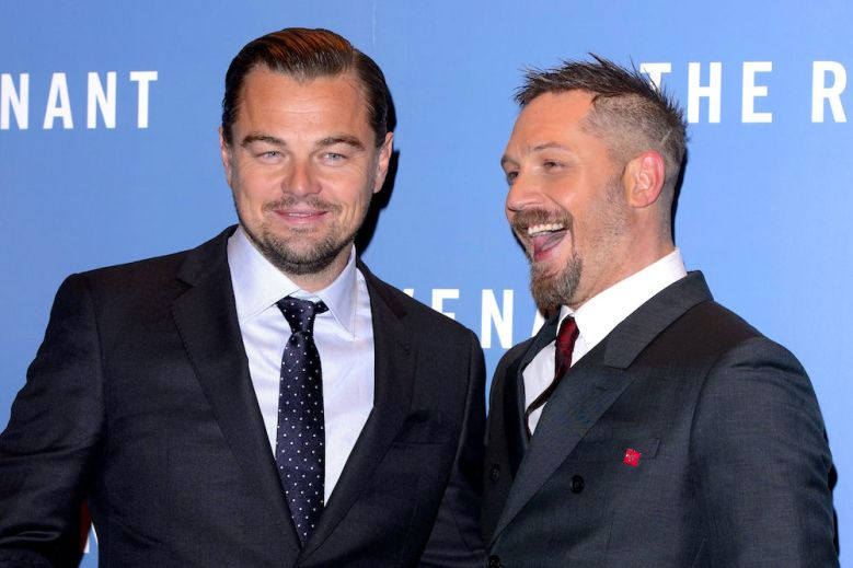 The Revenant Tom Hardy Leonardo DiCaprio