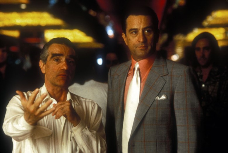 "Martin Scorsese and Robert De Niro, ""Casino"""
