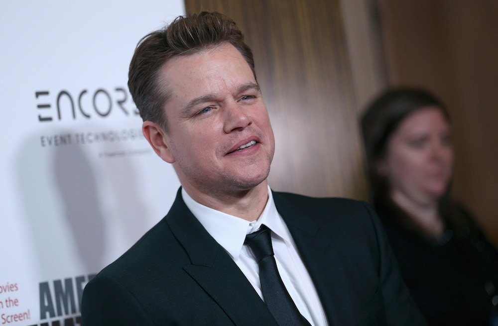 Matt damon sex