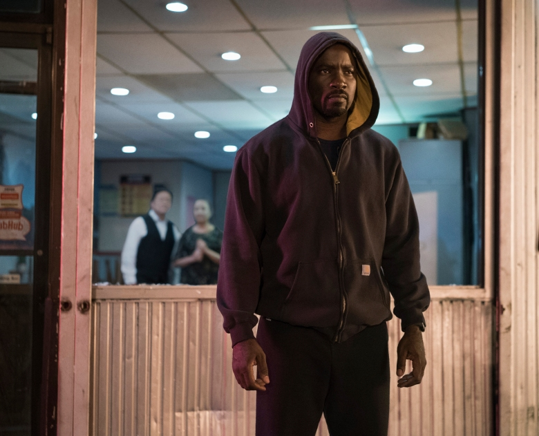 "Mike Colter in ""Marvel's Luke Cage"""