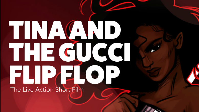 fb01bd68d67 Indiewire s Project of the Day   Tina and the Gucci Flip Flop ...