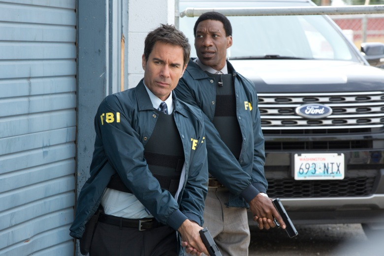 "Eric McCormack and Arnold Pinnock, ""Travelers"""
