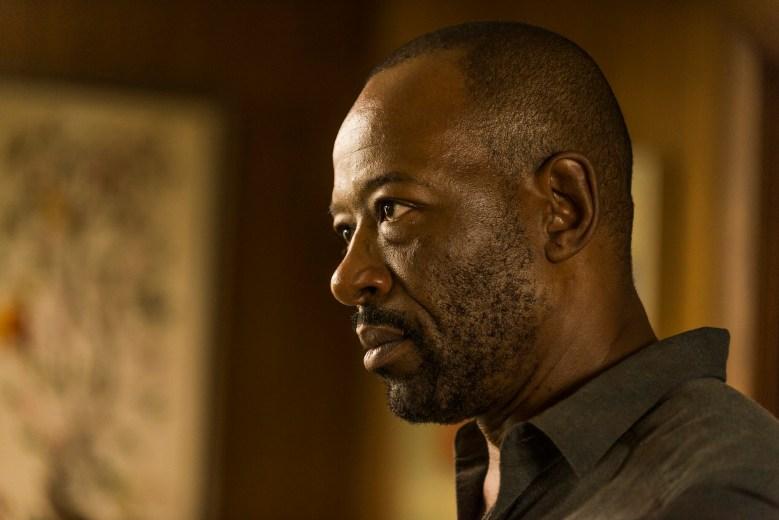 Lennie James as Morgan Jones- The Walking Dead _ Season 7, Episode 8 - Photo Credit: Gene Page/AMC