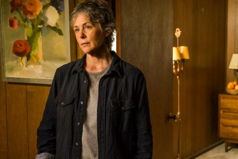 Melissa McBride as Carol Peletier- The Walking Dead _ Season 7, Episode 8 - Photo Credit: Gene Page/AMC