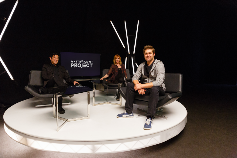 "Grant Imahara, Kari Byron and Tory Belleci on ""White Rabbit Project"""
