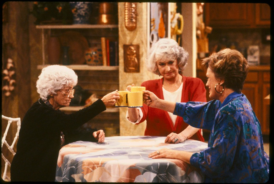 Coffee Break with Sophia, Dorothy and Blanche