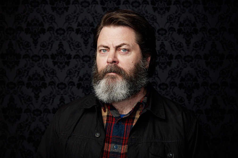Image of: Pyramid Nick Offerman Indiewire Nick Offerman On Why Ron Swanson Would Never Vote For Donald Trump