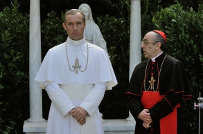 "Jude Law and Silvio Orlando, ""The Young Pope"""