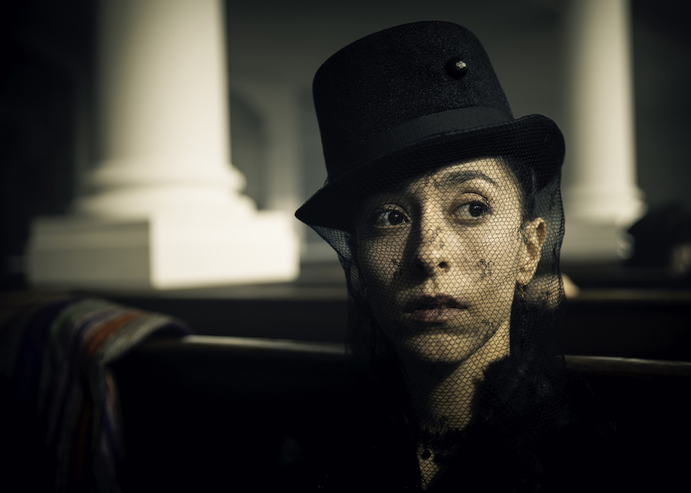 TABOO Episode 1 Oona Chaplin as Zilpha