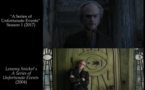 A Series of Unfortunate Events Side by Side
