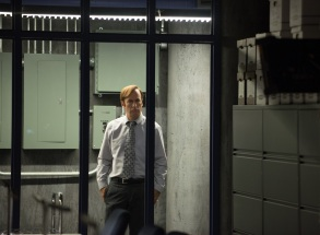 BTS, Bob Odenkirk as Jimmy McGill in Better Call Saul - Season 2, Episode 4. Photo Credit: Ursula Coyote/Sony Pictures Television/AMC