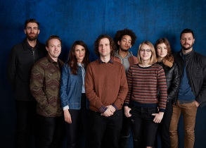 director Dave McCary, Beck Bennett, Michaela Watkins, Kyle Mooney, Jorge Londeborg Jr., Ryan Simpkins, Kate Lyn Sheil and Kevin Costello