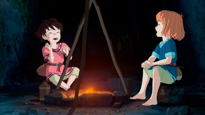 """Ronja and Birk, """"Ronja, the Robber's Daughter"""""""