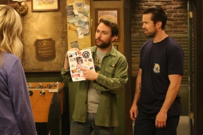 "IT'S ALWAYS SUNNY IN PHILADELPHIA ""Old Lady House: A Situation Comedy"" – Season 12, Episode 3 Charlie Day as Charlie, Rob McElhenney as Mac."