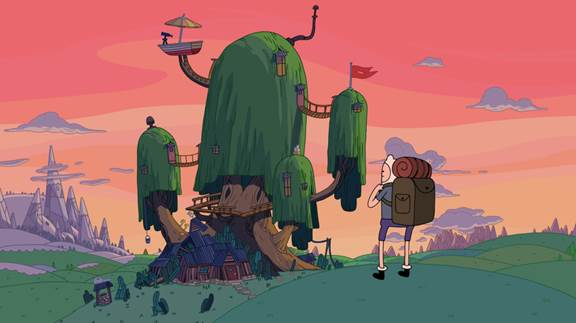 """Adventure Time: Islands"""