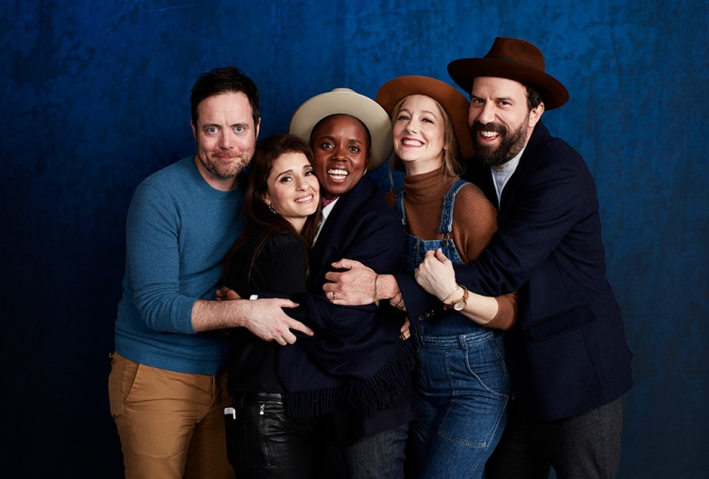 Jon Daly, Shiri Appleby, director Janicza Bravo, Judy Greer and Brett Gelman