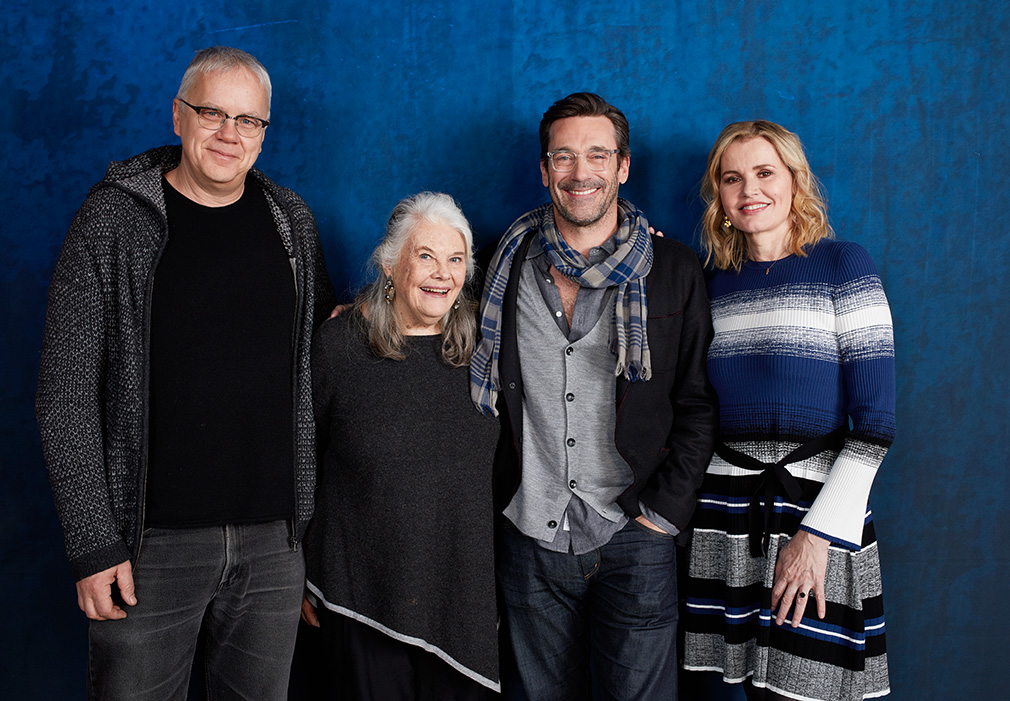 Tim Robbins, Lois Smith, Jon Hamm and Geena Davis