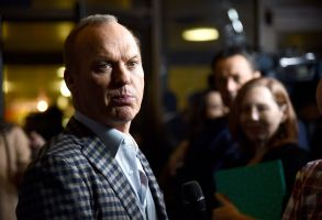 Michael Keaton The Founder Premiere
