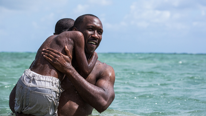 """Moonlight"" Golden Globe 2017 Best Drama"