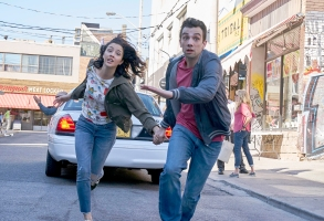 "MAN SEEKING WOMAN -- ""Ranch"" -- Season 3, Episode 2 (Airs January 11, 10:30 pm e/p) Pictured (l-r): Katie Findlay as Lucy, Jay Baruchel as Josh. CR: Michael Gibson/FXX"
