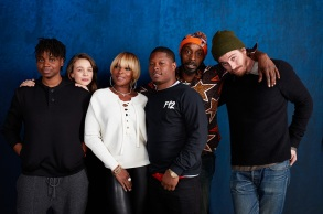 director Dee Rees, Carey Mulligan, Mary J. Blige, Jason Mitchell, Rob Morgan and Garrett Hedlund