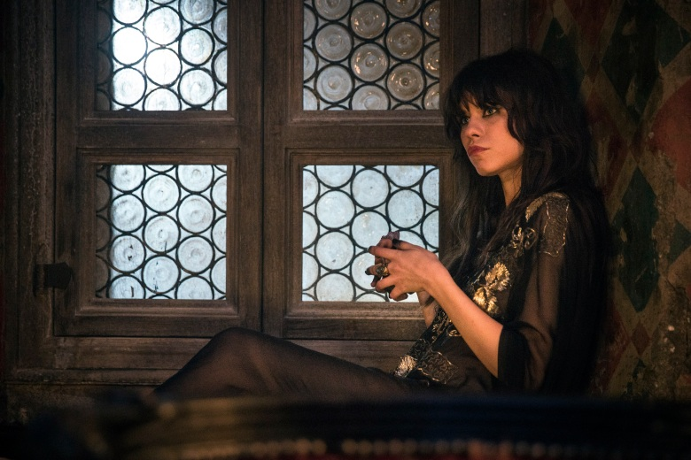 """EMERALD CITY -- """"The Beast Forever"""" Episode 101-- Pictured: Ana Ularu as West -- (Photo by: David Lukacs/NBC)"""