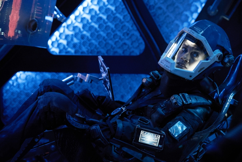 """THE EXPANSE -- """"Doors & Corners"""" Episode 202 -- Pictured: Dominique Tipper as Naomi Nagata -- (Photo by: Shane Mahood/Syfy)"""