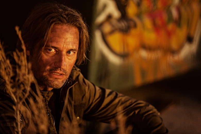 "COLONY -- ""Preoccupation"" Episode 201 -- Pictured: Josh Holloway as Will Bowman -- (Photo by: Isabella Vosmikova/USA Network)"