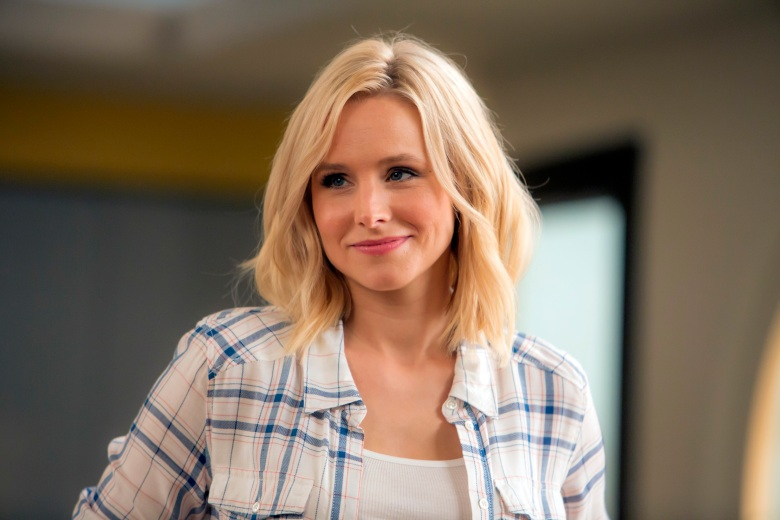 "THE GOOD PLACE -- ""What's My Motivation"" Episode 111 -- Pictured: Kristen Bell as Eleanor Shellstrop -- (Photo by: Ron Batzdorff/NBC)"