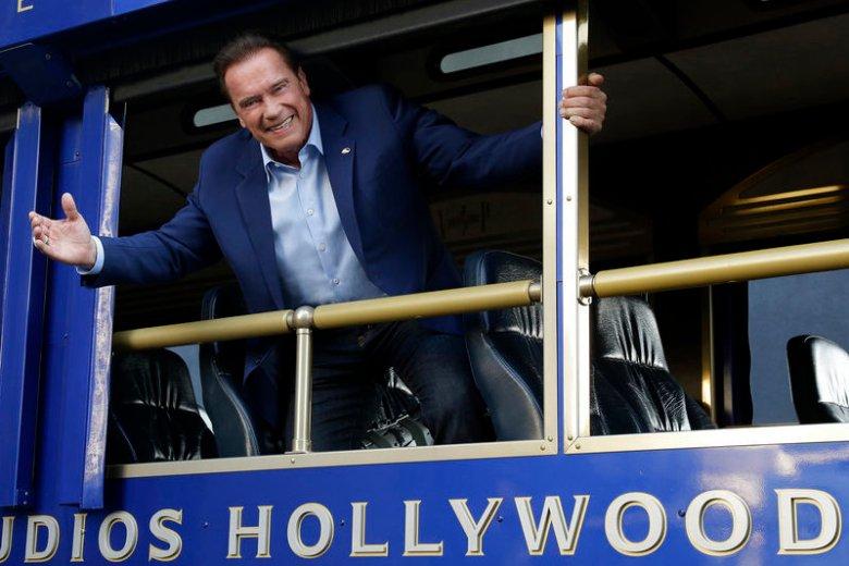 THE NEW CELEBRITY APPRENTICE Arnold Schwarzenegger