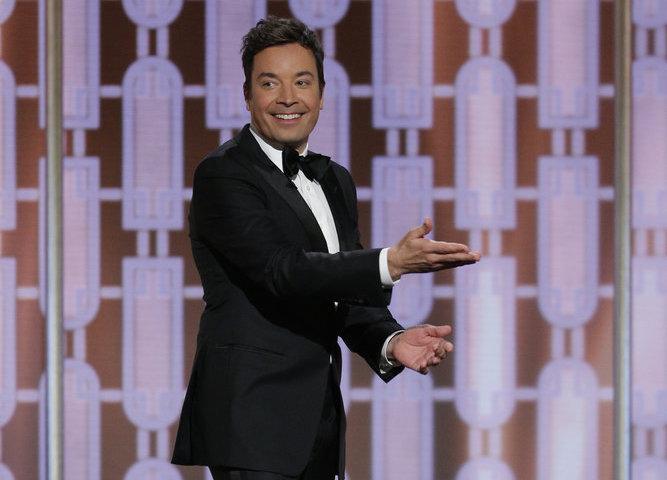 Jimmy Fallon 74th Annual Golden Globe Awards 2017