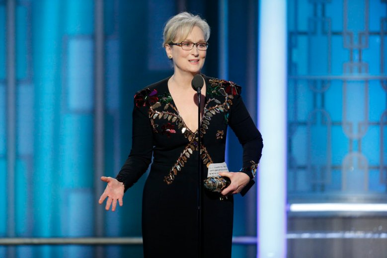 Meryl Streep 74th Annual Golden Globe Awards 2017