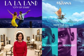 Oscar Music 2017 La La Land Jackie Moonlight Moana