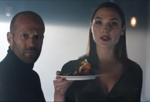 Jason Statham and Gal Gadot