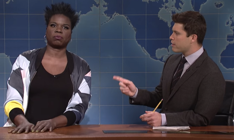 Leslie Jones Saturday Night Live Weekend Update